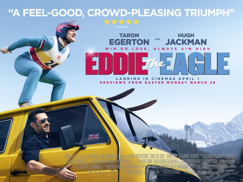 Image result for eddie the eagle poster
