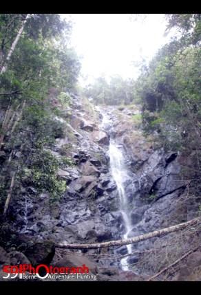 Air Terjun Mandin Sagunung, Gunung Aur Bunak, Kalsel