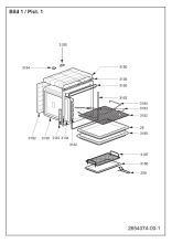 Diplomat ADP3240 (7728986352) Cooker & Hob Spares & Parts