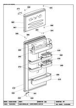 Beko FSA716W (6065463067) Fridge & Freezer Spares & Parts