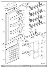 Flavel FC7030 (6034419179) Fridge & Freezer Spares & Parts