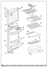 Beko TDA531S (7211846384) Fridge & Freezer Spares & Parts