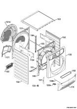 Zanussi ZDC8203W (91609739700) Tumble Dryer Spares & Parts