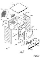 Electrolux EDC2086PDW (91609693803) Tumble Dryer Spares