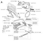 Husqvarna 365 SPECIAL (2002-01) Chainsaw Spares & Parts