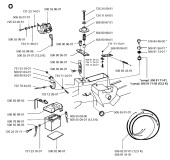 Husqvarna RIDER 850 (1996-01) Ride On Mower Spares & Parts