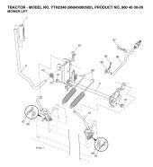 Husqvarna YTH2348 (960450005) Ride On Mower Spares & Parts
