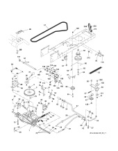 McCulloch M13597 (96011023500) Ride On Mower Spares