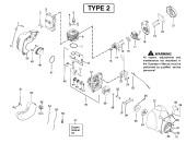 Partner Colibri II S (952715744) Trimmer Spares & Parts