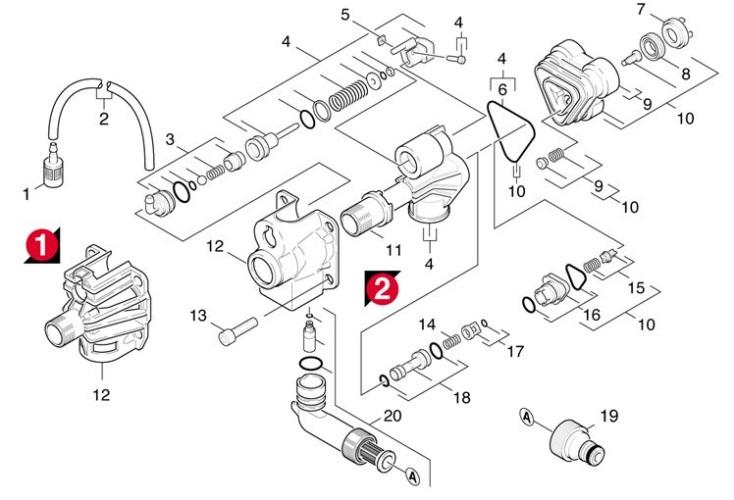 Karcher K4.70 EU (1.141-651.0) Pressure Washer Cylinder