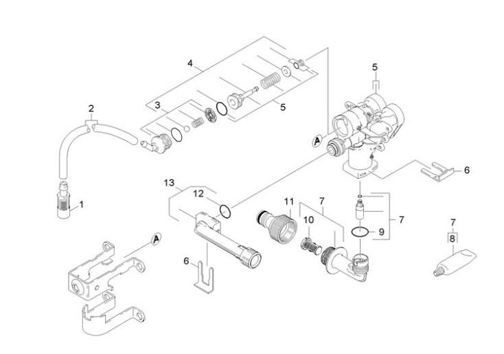 Karcher K2.14 GB (1.671-642.0) Pressure Washer Housing
