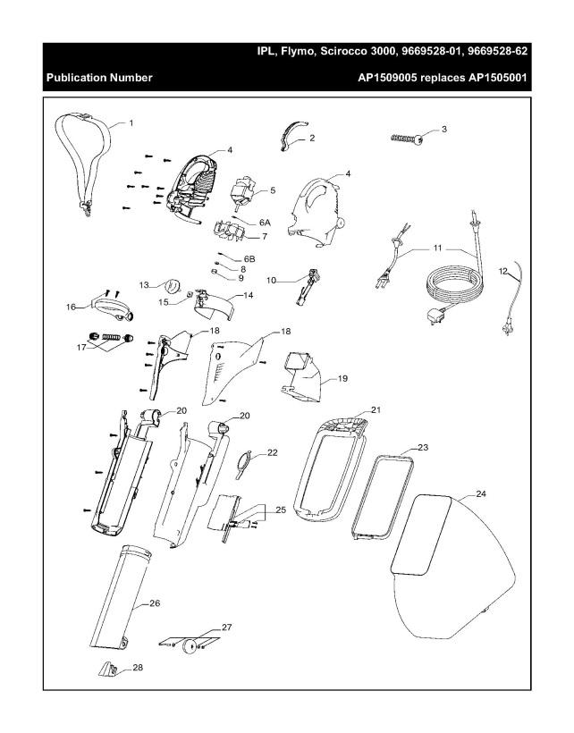 Flymo SCIROCCO 3000 (966952801) Garden Vacuum PRODUCT