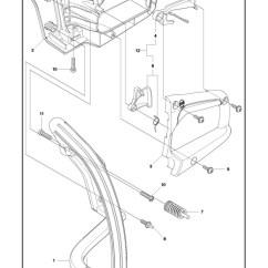 Husqvarna 235 Chainsaw Parts Diagram 13 Pin Trailer Socket Wiring Uk E 2014 10 Handle Controls Spare