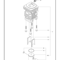 Husqvarna 240 Chainsaw Parts Diagram 2006 Wrx Wiring E 2014 10 Cylinder Piston Spare