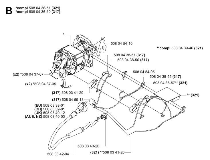 john deere lt166 wiring diagram house fly anatomy husqvarna 50 chainsaw parts - imageresizertool.com