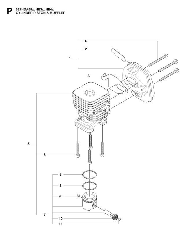 Husqvarna 327 HE3 X-SERIES (2015-02) Hedge Trimmer