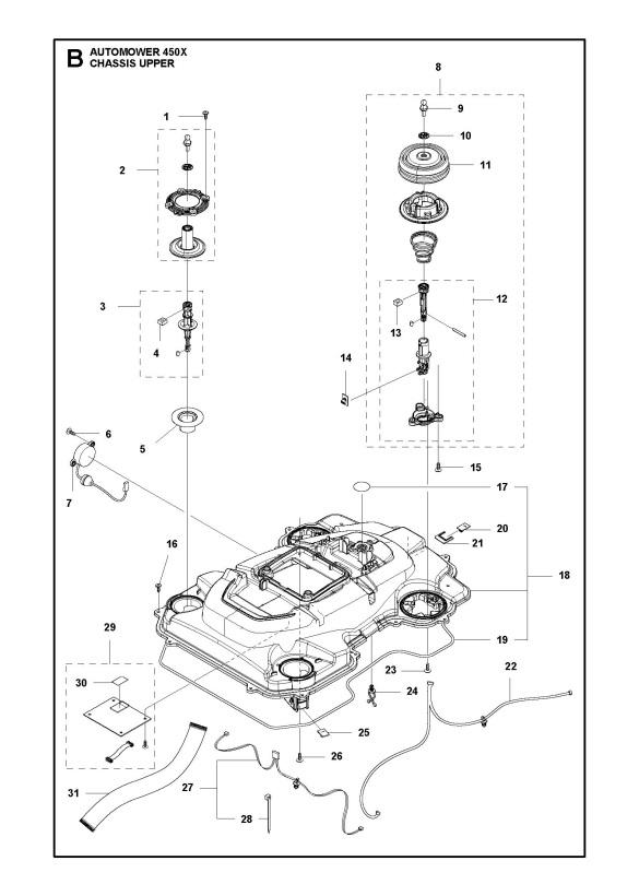 Husqvarna AUTOMOWER 450X (2016-03) Robotic Lawnmower