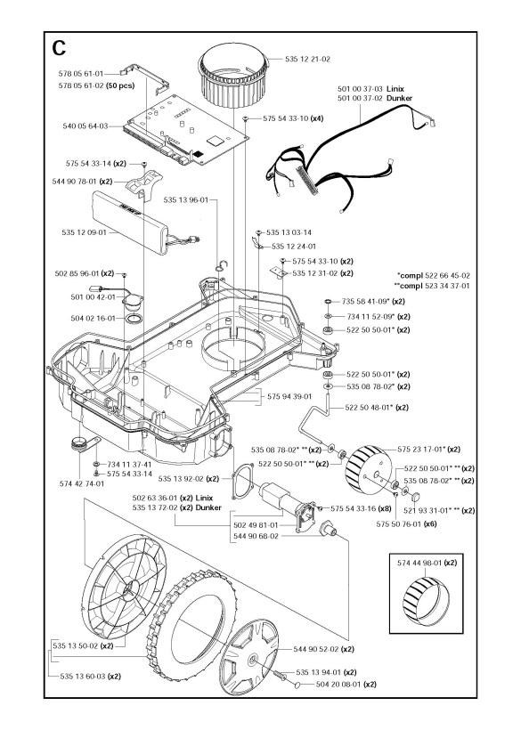 Husqvarna AUTOMOWER 220 AC (2011-01) Robotic Lawnmower