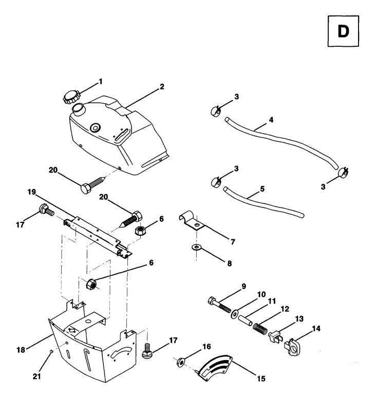 Husqvarna LT100 (1994-03) Ride On Mower DASH Spare Parts