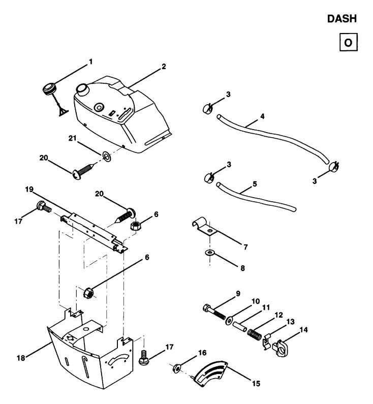Husqvarna LT100 (1992-03) Ride On Mower DASH Spare Parts