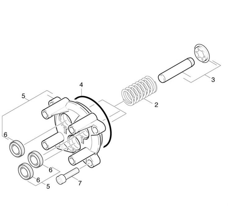 Karcher K200 M-PL-RWB EUR (1.241-207.0) Pressure Washer
