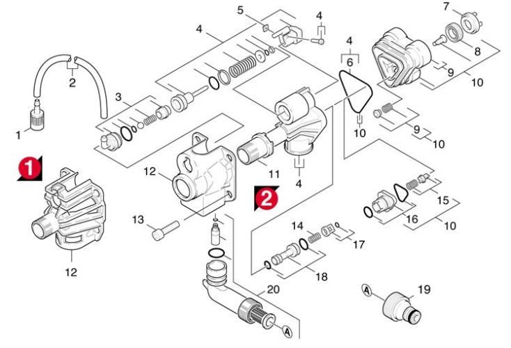 Karcher K3.80 EU (1.141-301.0) Pressure Washer Cylinder