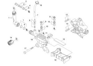 Karcher K791 MD EU (13988000) Pressure Washer Cylinder