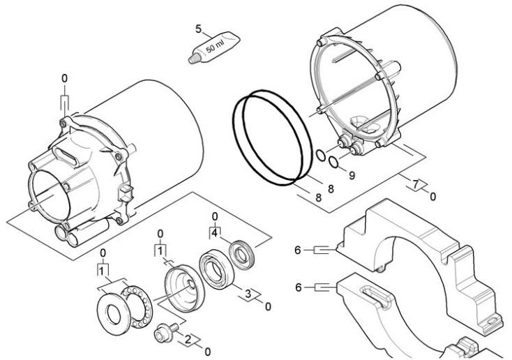 Karcher K4.600 EU (1.180-600.0) Pressure Washer Motor