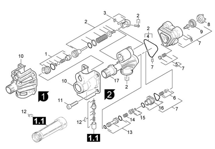 Karcher K5.55M PL RWB T250 GB (1.274-351.0) Pressure