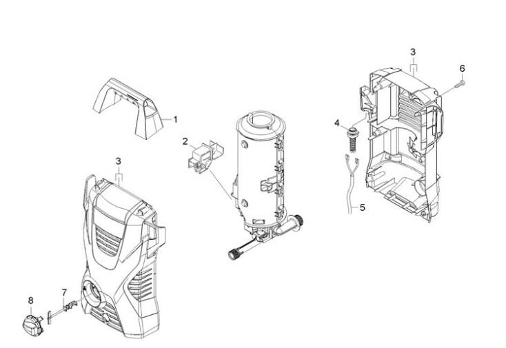 Karcher K2 Compact GB (1.673-122.0) Pressure Washer