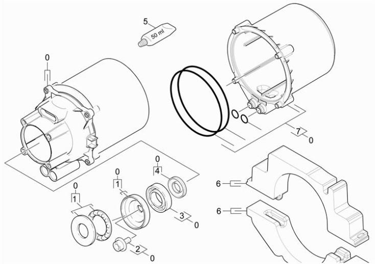 Karcher K3.700 EU (1.180-300.0) Pressure Washer Motor