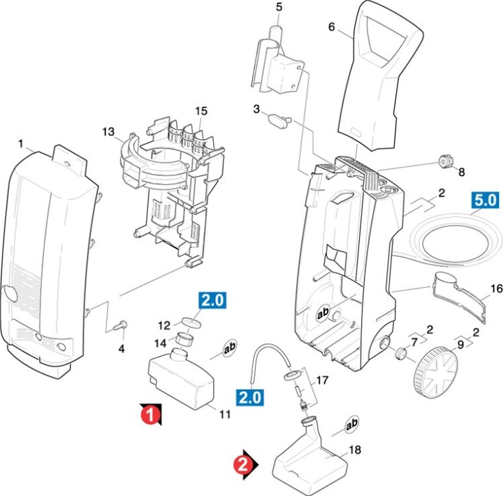 Karcher KB9030 M-WB GB (1.423-114.0) Pressure Washer