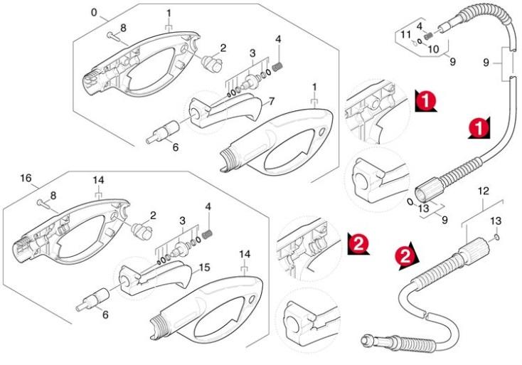 Karcher K300 B GB (1.994-414.0) Pressure Washer Hand