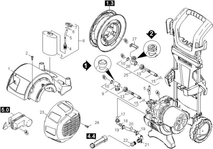 Karcher K5.140 M Deluxe GB (1.274-356.0) Pressure Washer