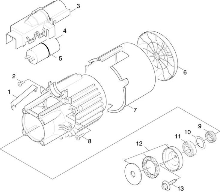 Karcher K2.94 MD EU (1.400-400.0) Pressure Washer Motor