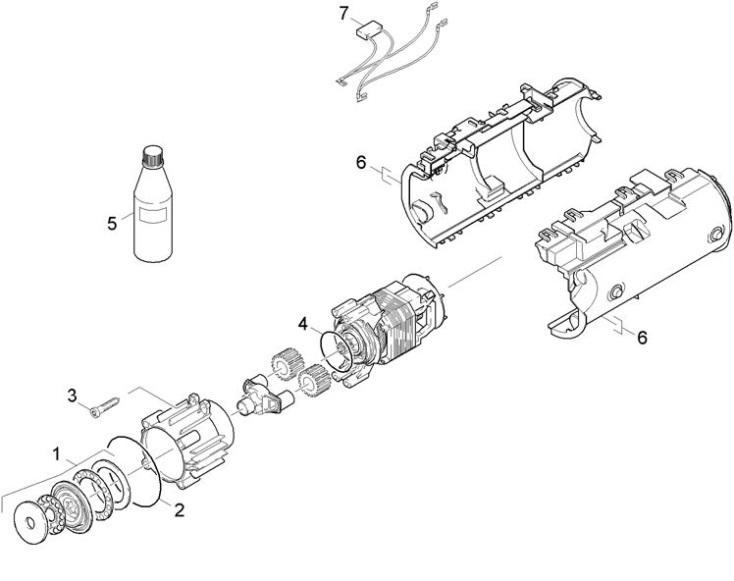 Karcher K2.300 EU (1.673-200.0) Pressure Washer Motor