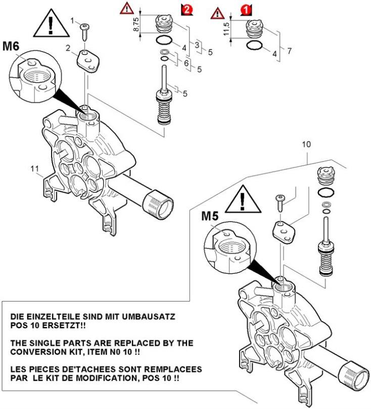 Karcher K520M-RWB GB (1.069-931.0) Pressure Washer Excess