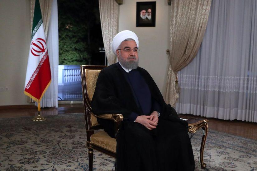 O presidente do Irã, Hassan Rouhani