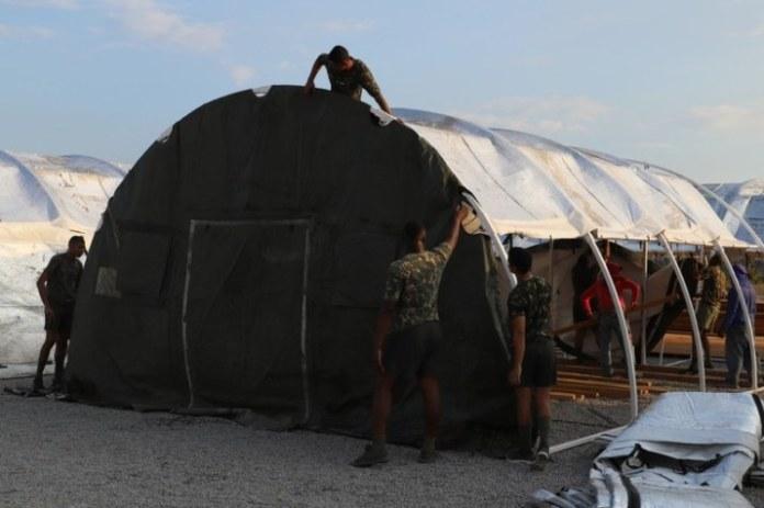 Exército Brasileiro constrói Hospital de Campanha em Boa Vista (RR)