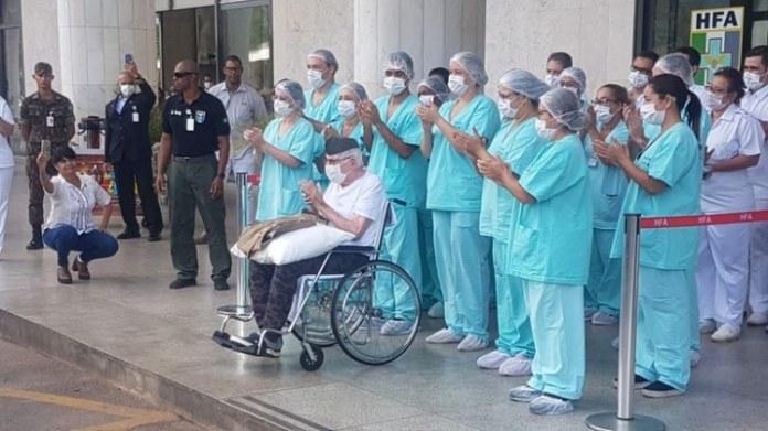 Percentual de pacientes recuperados já chega a 55%