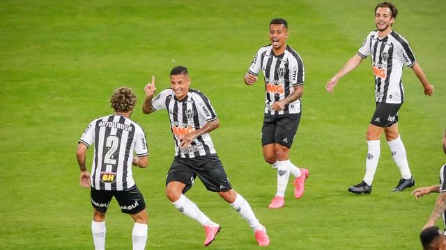 Galo atropela o Patrocinense e vai encarar o América na semifinal do Mineiro 2020