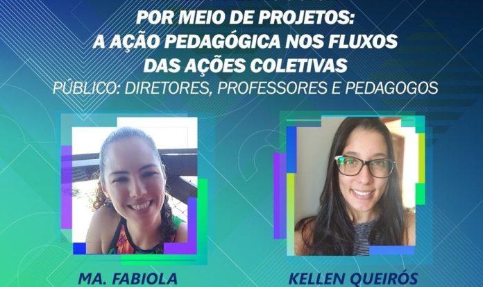 Live sobre gestão pedagógica reúne profissionais da Rede Estadual