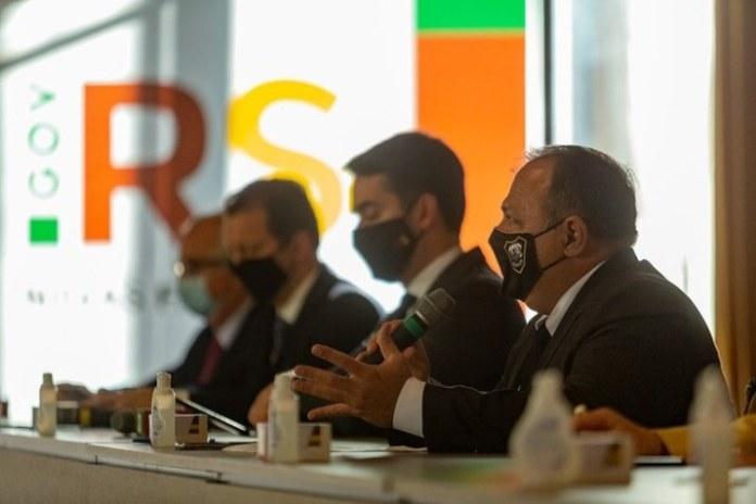 Ministro da Saúde se reúne com governo do Rio Grande do Sul e discute apoio no combate ao coronavírus
