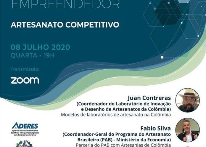 Webconferência promovida pela Aderes debate hoje, 8, o artesanato competitivo