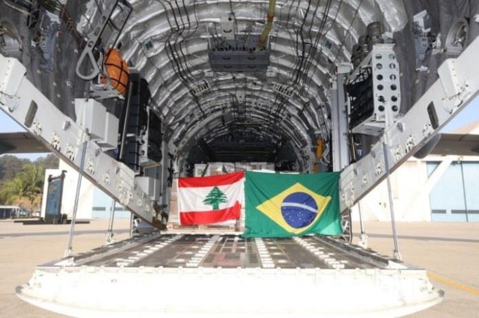Aviões da missão humanitária ao Líbano retornam neste sábado