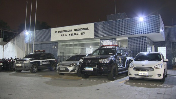 Adolescente foi levado para a Delegacia Regional de Vila Velha