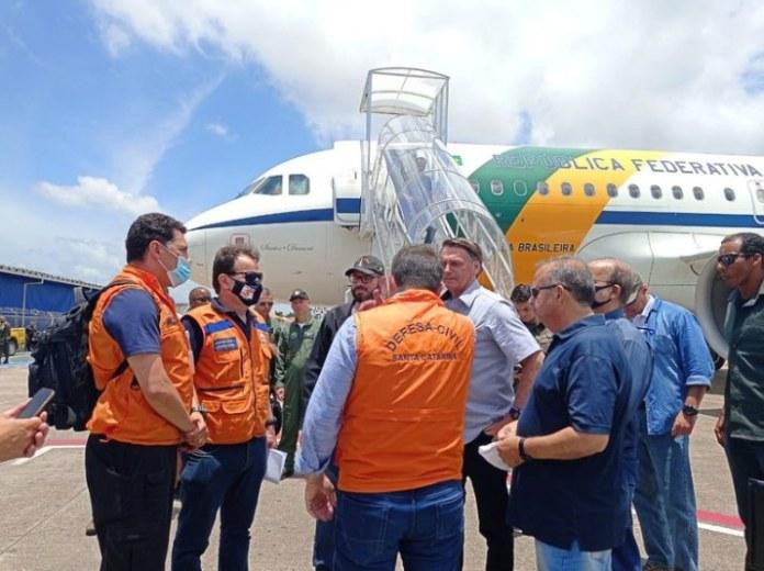 Governo Federal presta apoio a Santa Catarina após tempestades