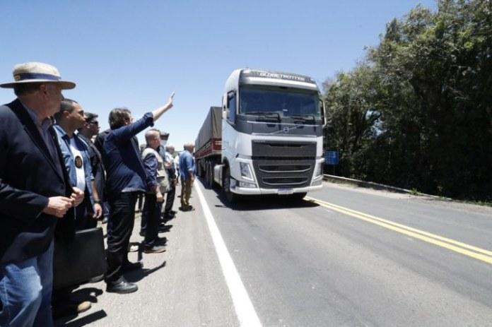 Novo trecho de duplicação da BR-116 é entregue no Rio Grande do Sul
