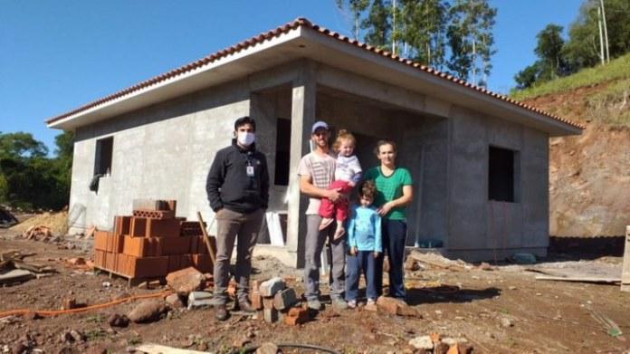 Pronaf Habitação financia mais de R$ 524 milhões em reformas e construção de casas