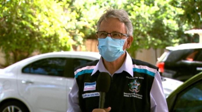 Luiz Carlos Reblin, subsecretário de Vigilância em Saúde no ES — Foto: Reprodução/ TV Gazeta